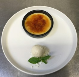 Crème Brûlée met koffiesmaak